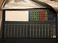 Soundcraft SI Expression 32 channel digital mixing console desk.