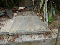 20 Concrete Paving Slabs 2ft x 2ft