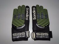 Sondico Advanced Technology Pro Shield Football Goalkeeper Gloves Soccer Sports Games Hand Quality