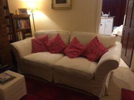 Two Lovely Sofas - sell together or separate - £100 each ovno