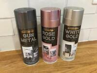 Brand new rustoleum metallic paint for furniture and shabby chic projects bargain