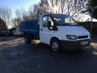 Ford transit tipper very clean