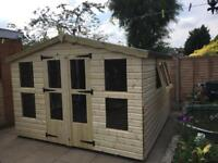 *****10x10 tantalised timber summer house****
