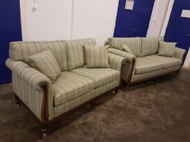 STYLISH WADE UPHOLSTERY VERDI SUITE LUXURY 3 SEATER SOFA & 2 SEATER SOFA SETTEE DELIVERY AVAILABLE