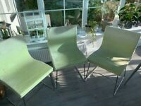 8 Ligne Roset Dining Chairs