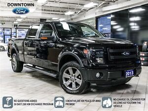 2013 Ford F-150 FX4, Leather package, Moonroof, Car Proof Verifi