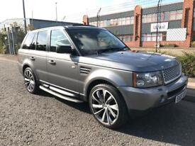 ***LAND ROVER RANGE ROVER SPORT 2.7 TD HSE UPGRADE ALLOYS+SUNROOF+SERV HIST***£8990!