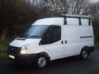 2010 FORD TRASIT T280 SWB SEMI HIGH ROOF, OWNED BY COUNCIL FROM NEW, READY TO GO, NO VAT!!!