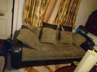 2 × 3 seater sofas