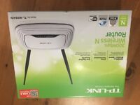 TP Link Wireless N Router 300Mps BNIB (Cable version)