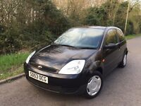 2003 Ford Fiesta 1.25 Finesse 3dr 12 Months Mot Low Mileage