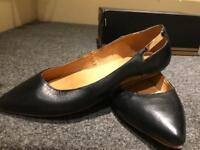 Leather Balerina Flats size 5