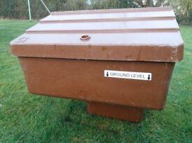 National Grid Transco Semi-Buried Brown Unused Gas Meter Box