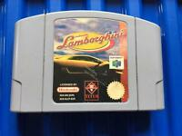 Nintendo 64 Lamborghini game. N64