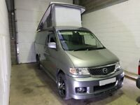 Mazda Bongo Campervan 4 berth 5 seat with kitchen & pop up roof fully loaded,stunning!
