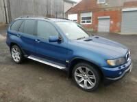 2001 BMW X5 3.0D SPORT SEMI-AUTO 5 DOOR HATCHBACK BLUE 4X4