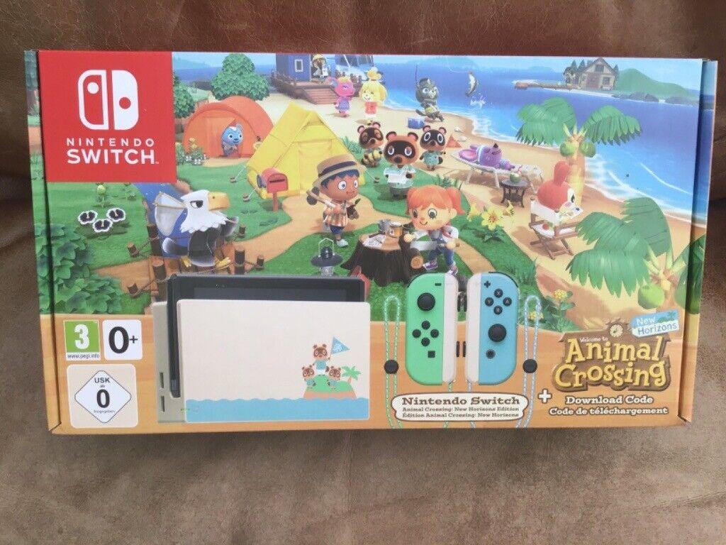 Nintendo Switch Console Brand New Animal Crossing Horizon ...