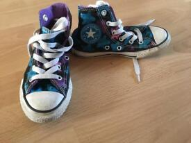 Next wellies and converse child size 11