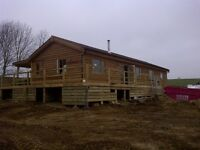 Mobile home or log cabin wanted 3 bedroom 20ft x 40ft or bigger