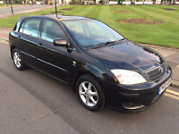 2002 Toyota Corolla 1.6 VVTi T SPIRIT BLACK 5 DOOR DRIVES PERFECT FOCUS GOLF A3 JAZZ ASTRA YARIS
