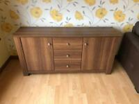 Walnut sideboard * free furniture delivery *