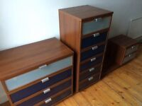 IKEA HOPEN chest of drawers X3