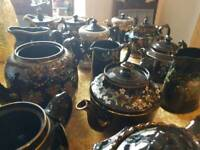 Victorian teapots and jugs