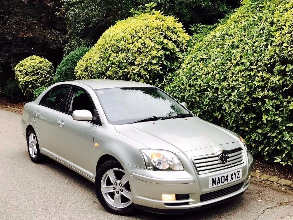 **ONLY DRIVEN 58K** TOYOTA AVENSIS 1.8 T3X 4DR + 7 TOYOTA STAMPS + SATNV/ELEC FLD MIRRORS + MINT CAR