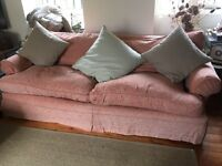Free! 3 seater sofa with feather filling