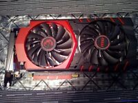 MSI GTX 960 Gaming 4G, 4gb ram, no box.