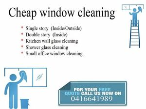 Cheap window cleaning Brighton Bayside Area Preview