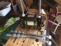 2 x 1.5 bar used shower pumps - Lemac Salamander & Varispeed 50. Bargain