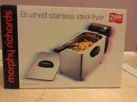 Morphy Richards Deep Fryer Brushed Stainless Steel
