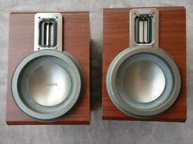 Phillips Speakers with Ribbon twitter technology