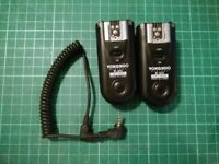 Yongnuo RF-603C Wireless Flash Triggers / Transceivers for Canon
