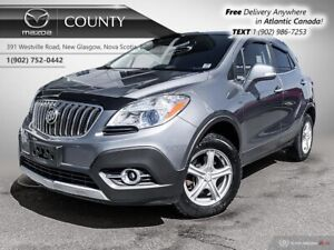2015 Buick Encore $62/WK+TAX! LEATHER! AWD! 2 SETS OF TIRES+ALLO