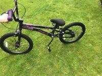 Stunt bike BMX type used probably twice
