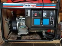 Brand new Clarke 2.8Kva petrol generator for sale, never been used.