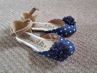 Navy blue ballets - size 10/28