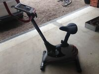 york aspire exercise bike v good condition