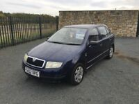 2002 52 SKODA FABIA CLASSIC 1.2 5 DOOR HATCHBACK - *FEB 2018 M.O.T* - PART EXCHANGE TO CLEAR!