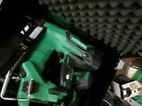2nd fix nail gun gassless and impact driver