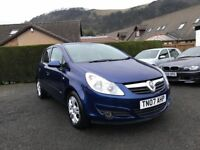Vauxhall Corsa 1.2 i 16v Club 5dr *Low Miles*1 Years MOT* Just Serviced*