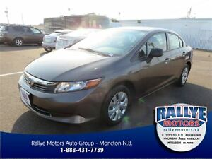 2012 Honda Civic LX! Keyless! Traction! Trade-In! Save!