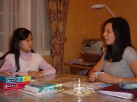 Part-time English tutor to Japanese students