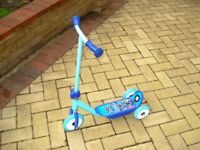 3 Wheel Child's Scooter-very good condition