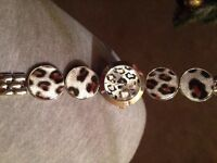 Ladies watch animal print New