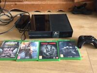 Used, xbox one console with games 110 for sale  Cheadle, Manchester