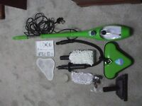 X 5 Steam Cleaner Ideal for both hard floors, and upholstery, also cleans windows and wall tiles