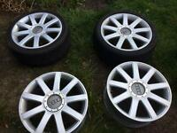 "18"" Audi alloys, RS4 A4 S4 A4"